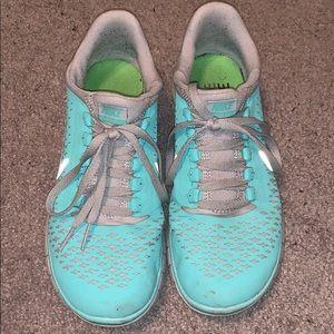 Tiffany Blue Nike 3.0 sneakers